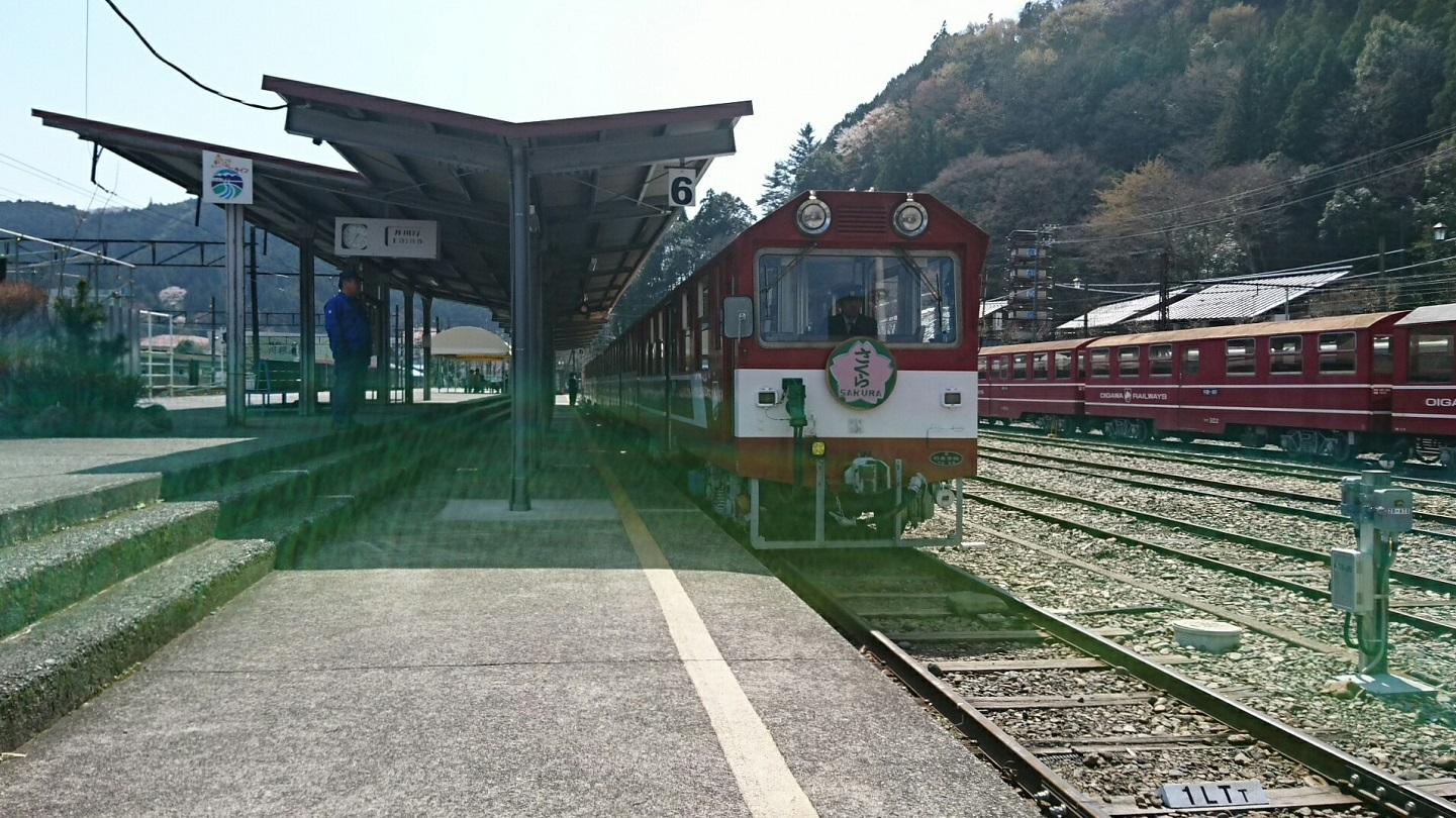 2018.3.28 かえり (27) 千頭 - 井川いき列車 1440-810