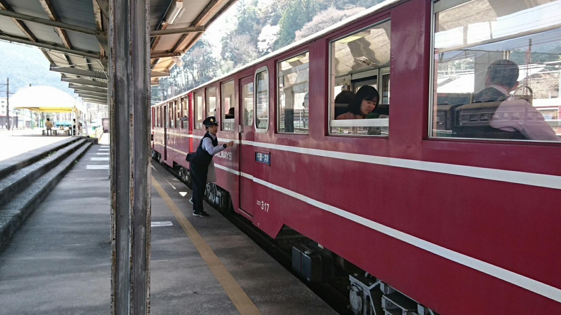 2018.3.28 かえり (29) 千頭 - 井川いき列車 1850-1040