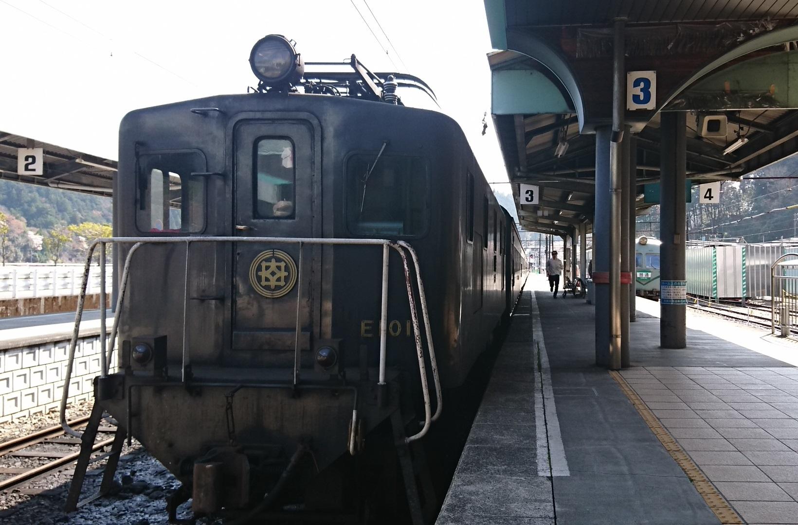 2018.3.28 かえり (34) 千頭 - 電気機関車(E101) 1640-1080