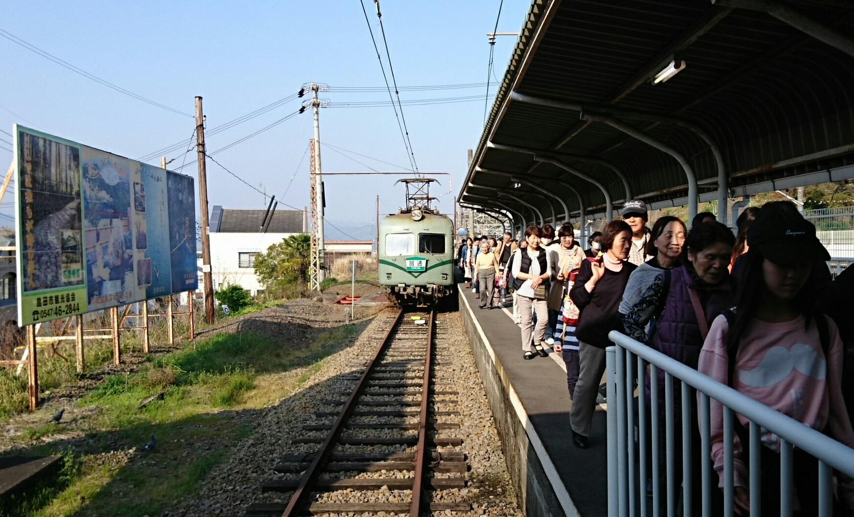2018.3.28 かえり (48) 金谷いきふつう - 金谷 1750-1060