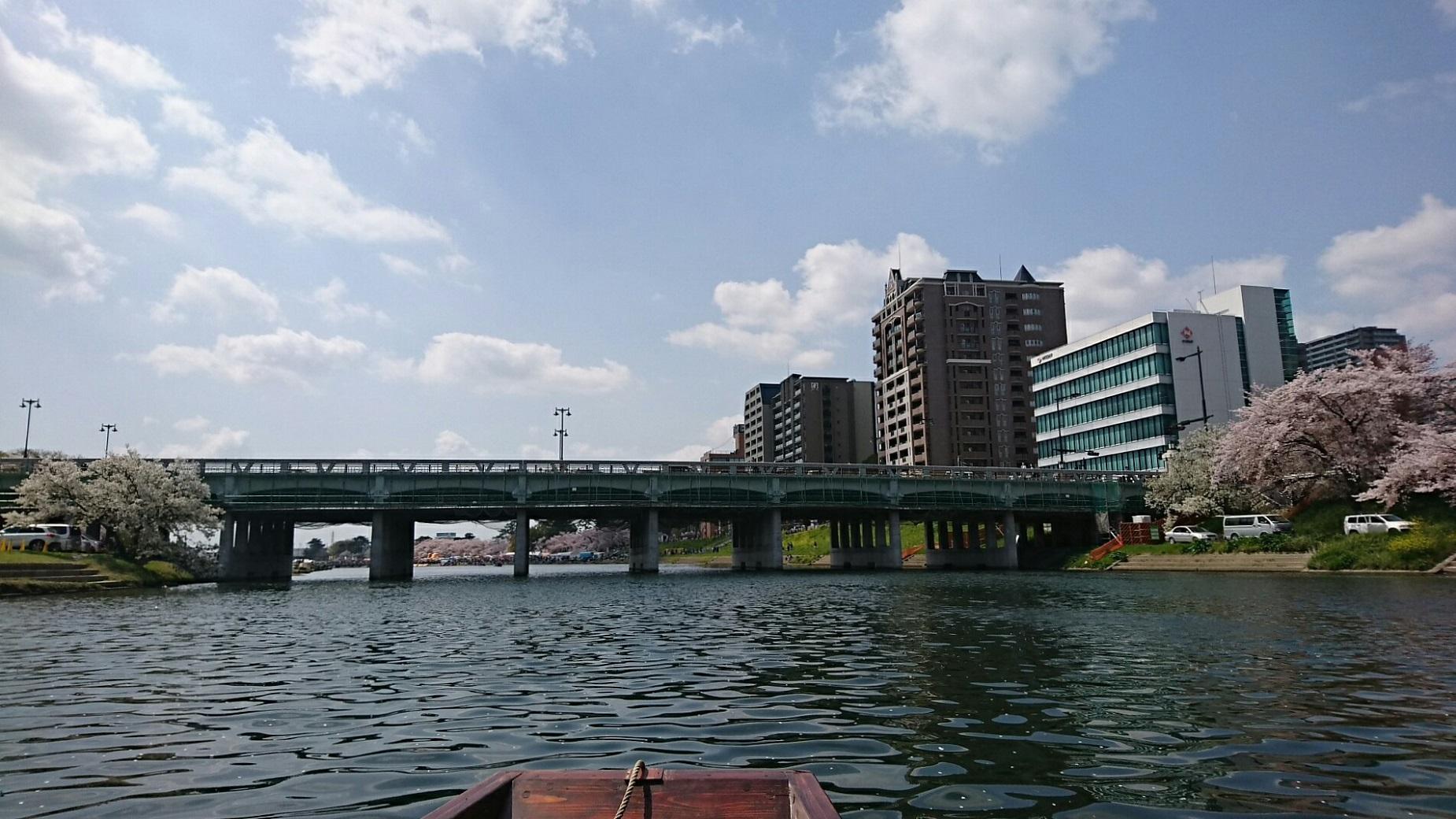 2018.3.31 岡崎ふなあそび (11) くだり - 殿橋 1850-1040