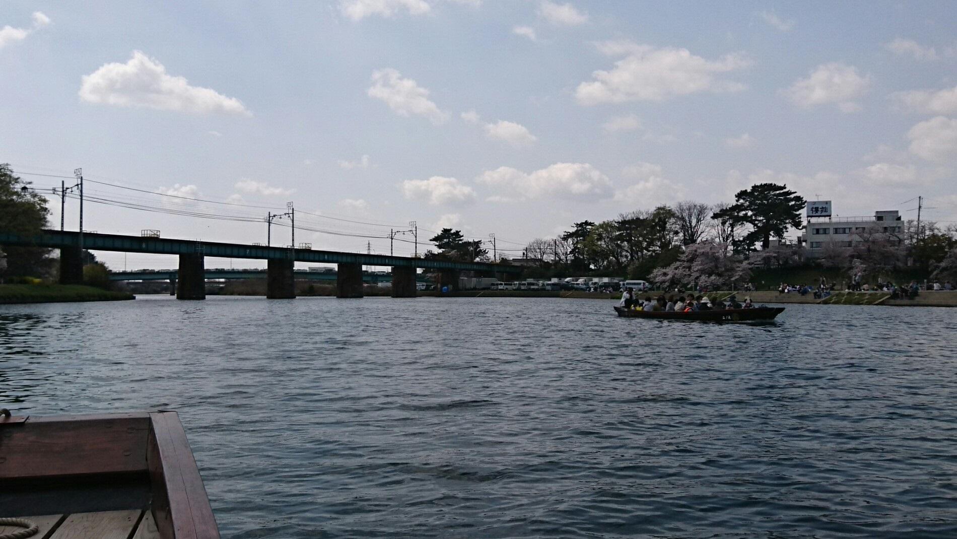 2018.3.31 岡崎ふなあそび (23) くだり - 名古屋本線鉄橋 1900-1070