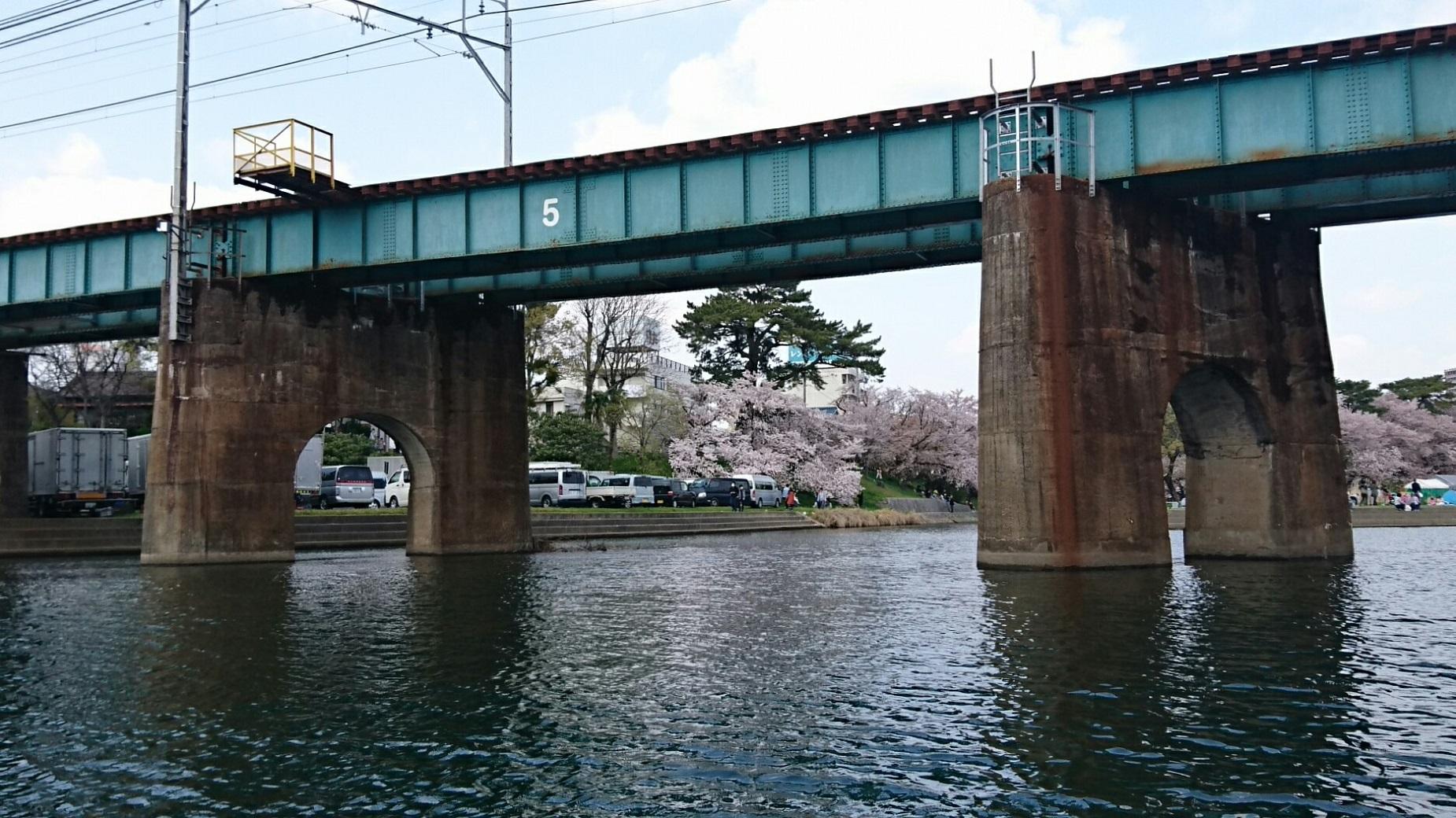 2018.3.31 岡崎ふなあそび (27) くだり - 名古屋本線鉄橋 1850-1040