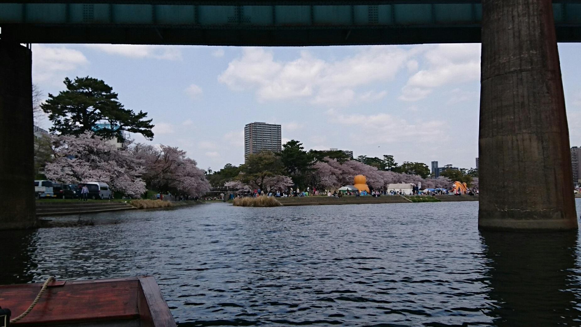 2018.3.31 岡崎ふなあそび (28) のぼり - 名古屋本線鉄橋 1850-1040