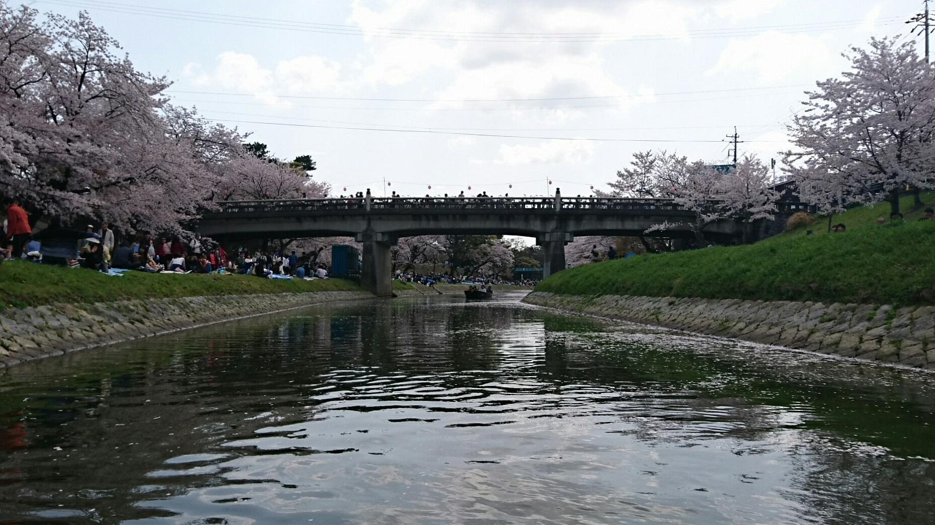 2018.3.31 岡崎ふなあそび (41) 伊賀川くだり - 竹千代橋 1850-1040