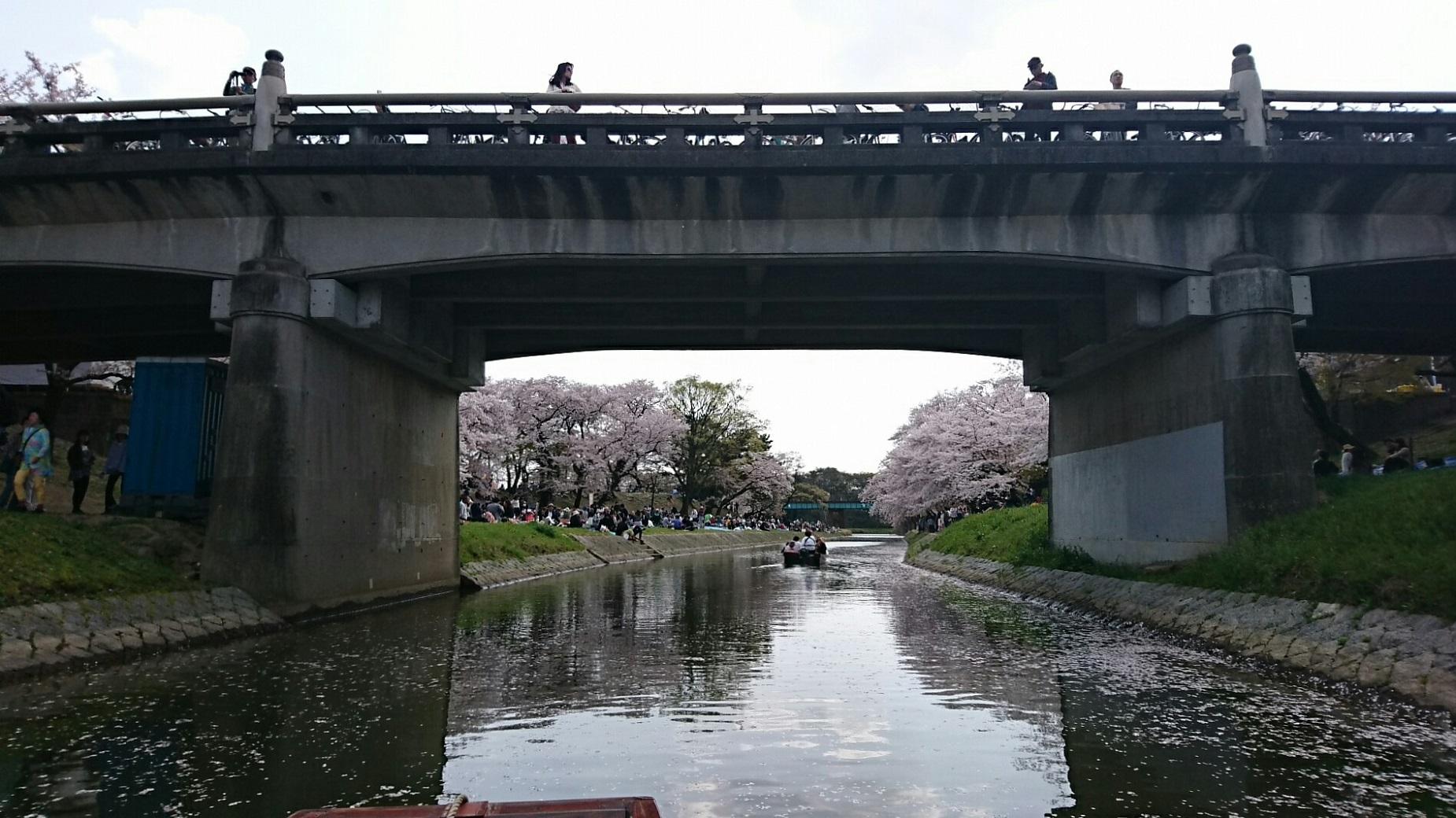 2018.3.31 岡崎ふなあそび (42) 伊賀川くだり - 竹千代橋 1850-1040