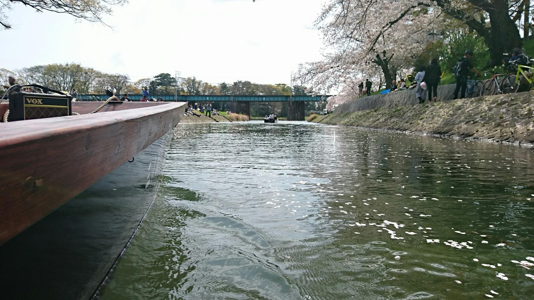 2018.3.31 岡崎ふなあそび (49) 伊賀川くだり - 名古屋本線鉄橋 1780-1000