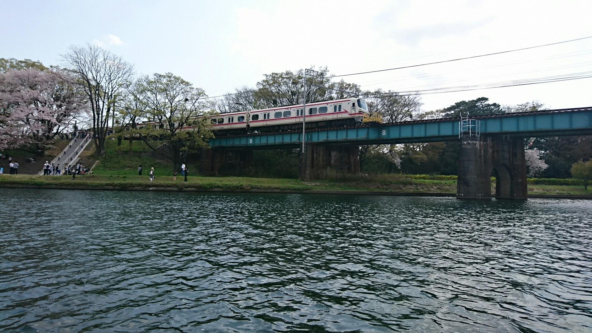 2018.3.31 岡崎ふなあそび (57) 転回 - 名古屋本線鉄橋 1900-1070