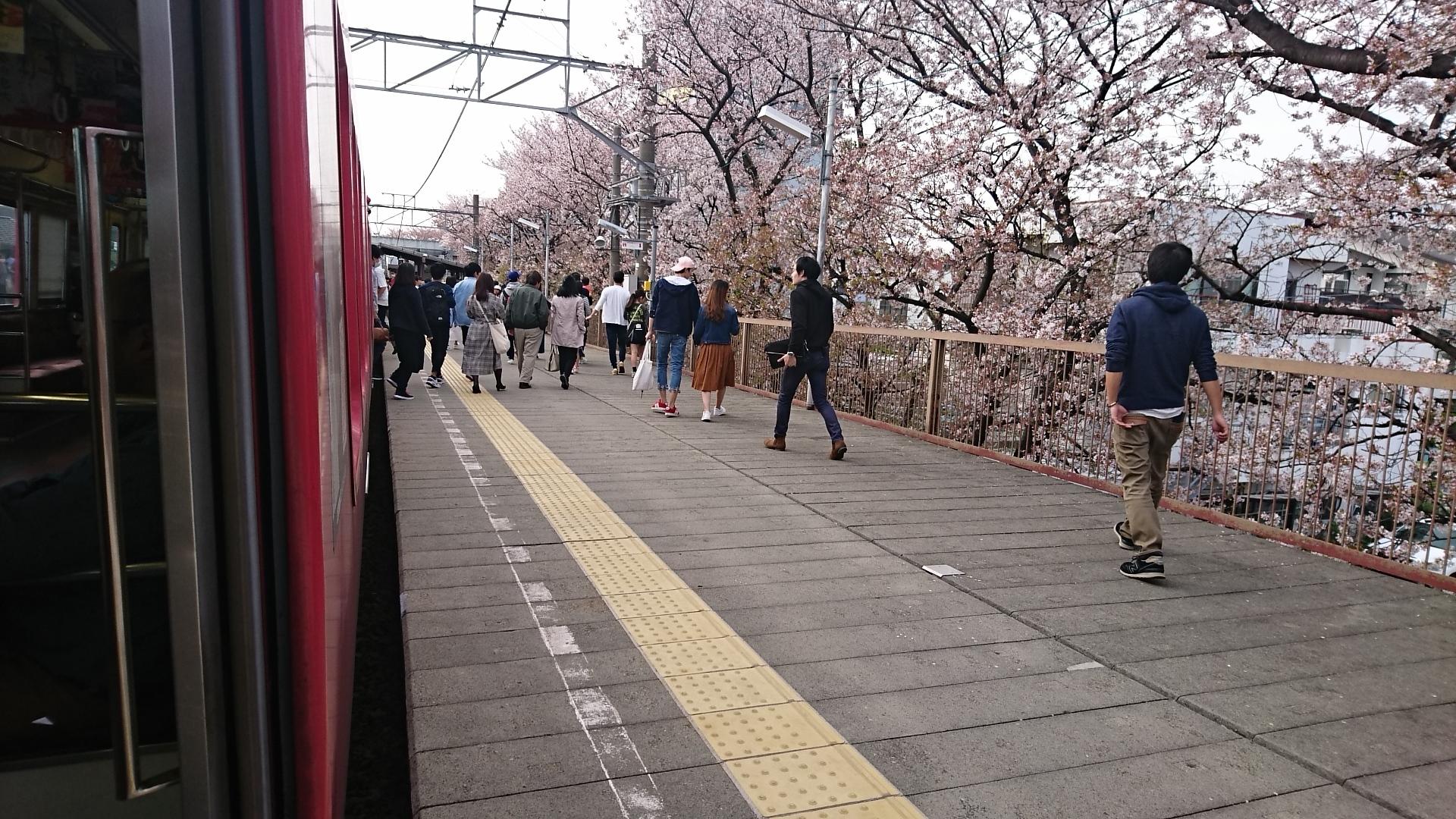 2018.4.1 東岡崎 (8) 東岡崎いきふつう - 岡崎公園前 1920-1080