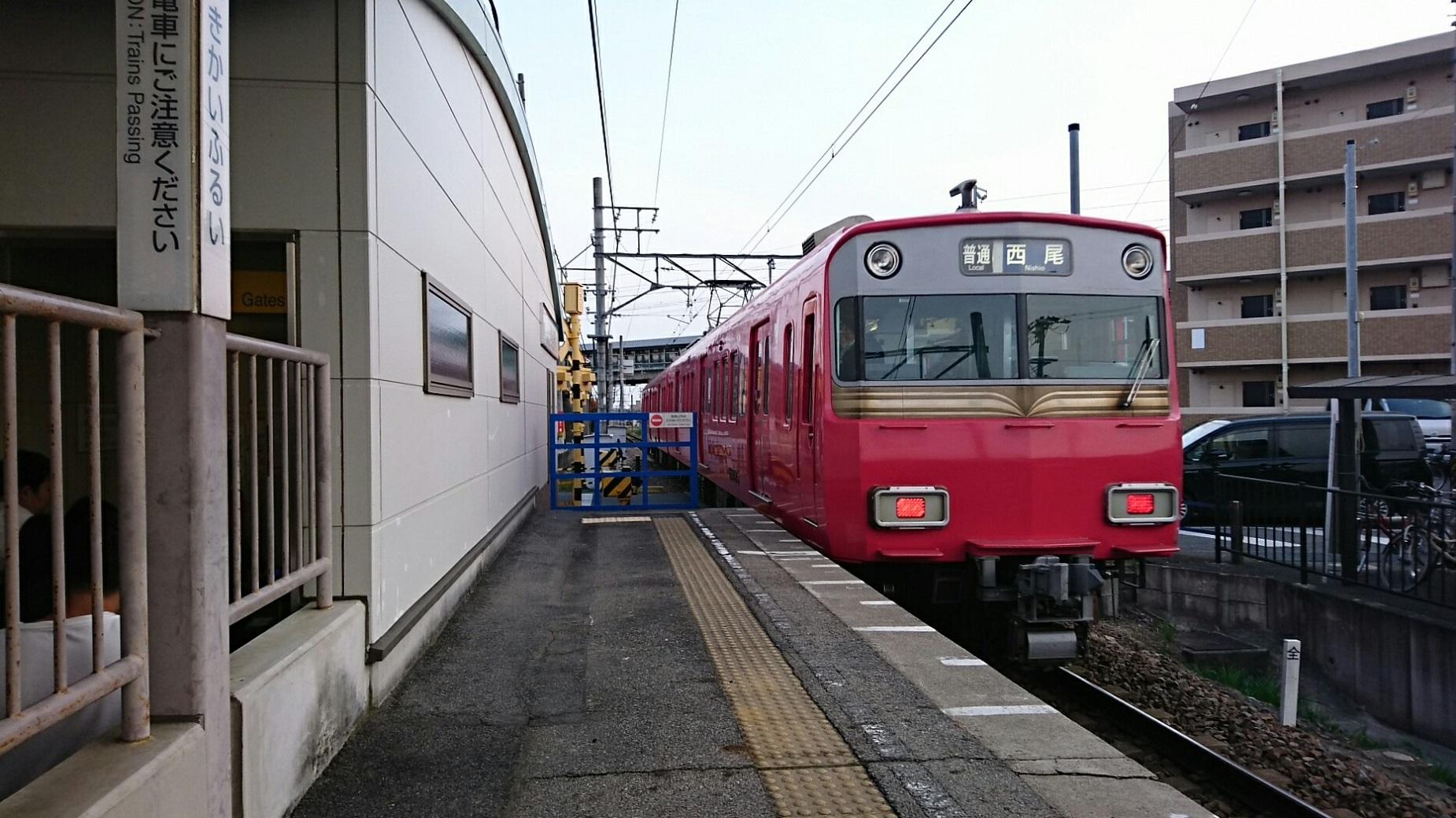 2018.4.1 東岡崎 (45) 古井 - 西尾いきふつう 1850-1040