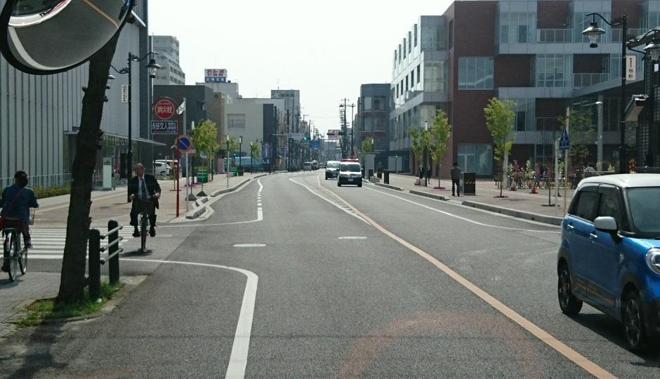2018.4.2 あんじょう (14) 更生病院いきバス - アンフォーレバス停 940-540