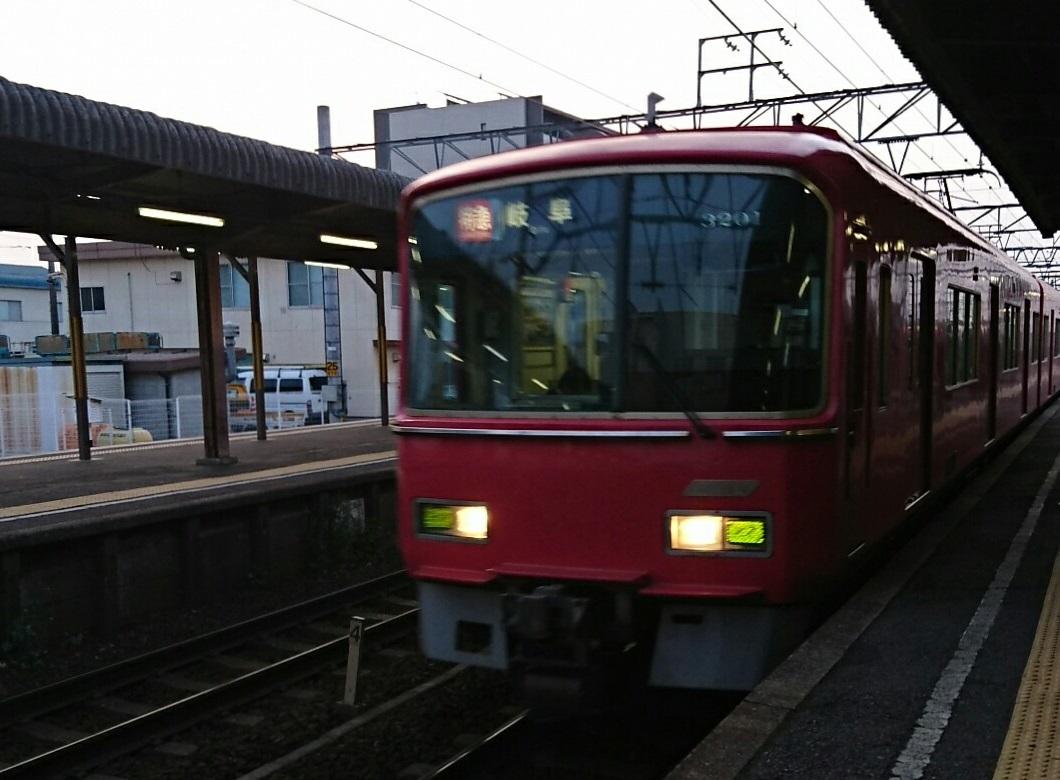 2018.4.3 名古屋 (2) しんあんじょう - 岐阜いき特急 1060-780