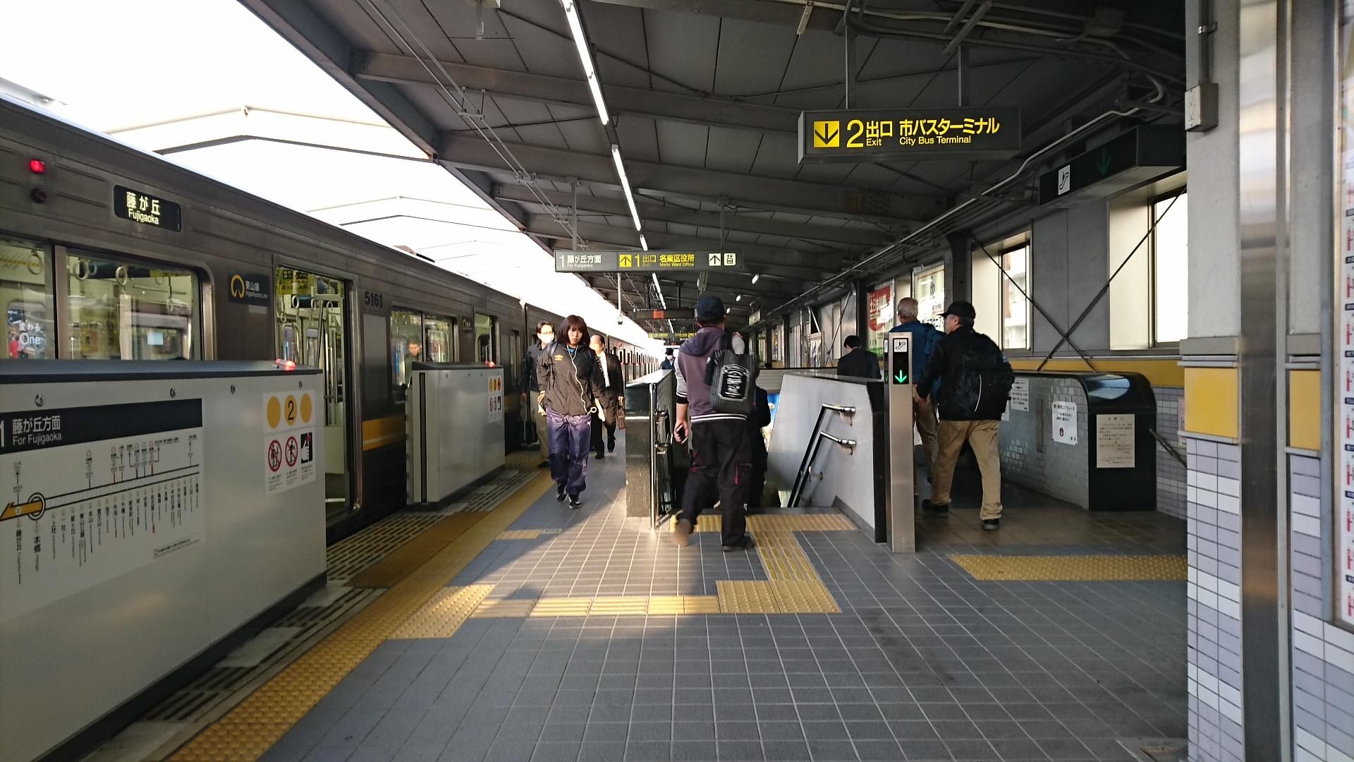 2018.4.3 名古屋 (19) 本郷 - 藤が丘いき 1920-1080