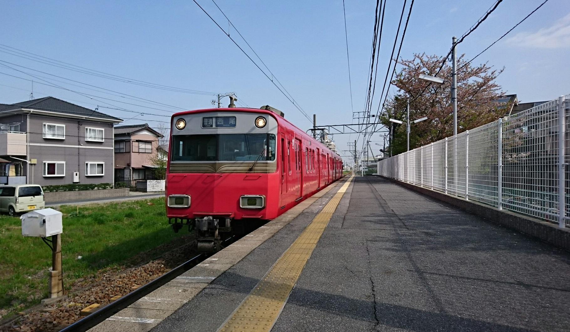 2018.4.4 西尾 (1) 古井 - 西尾いきふつう 1820-1060