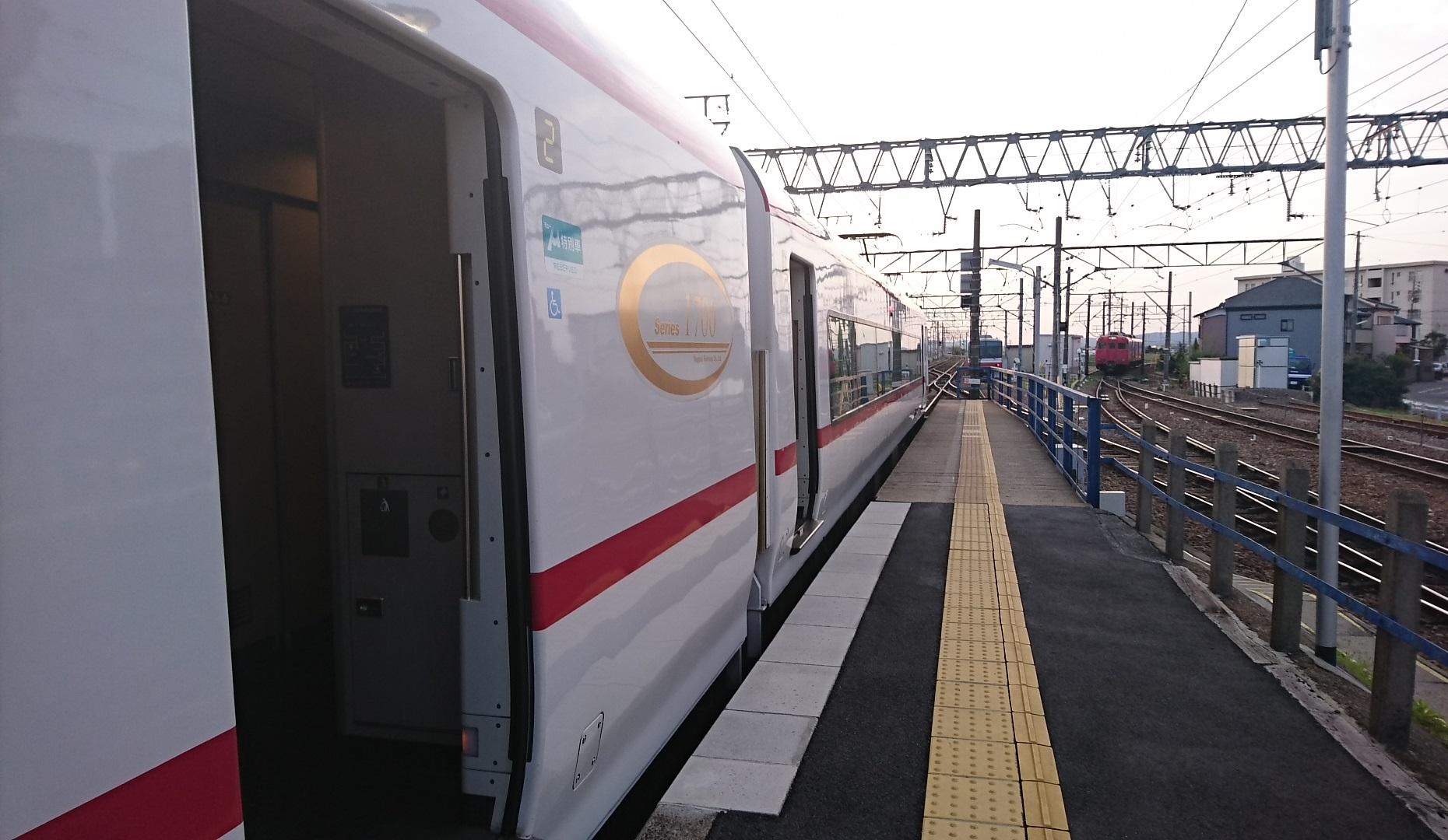 2018.4.5 名古屋 (7) しんあんじょう - 岐阜いき特急 1860-1080