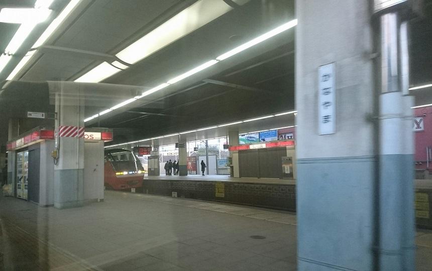 2018.4.5 名古屋 (12) 岐阜いき特急 - 金山 860-540