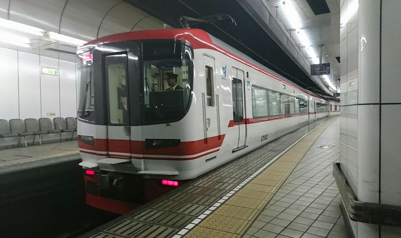 2018.4.5 名古屋 (15) 名古屋 - 岐阜いき特急 1360-810