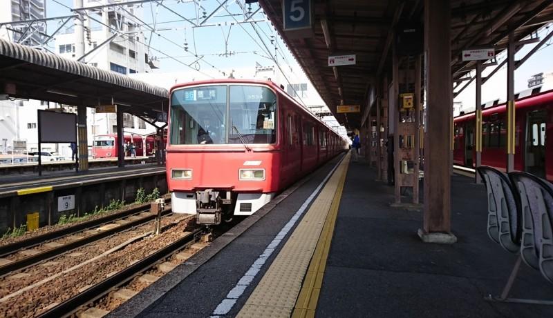 2018.4.9 名鉄 (38) しんあんじょう - 豊橋いき急行 1250-720