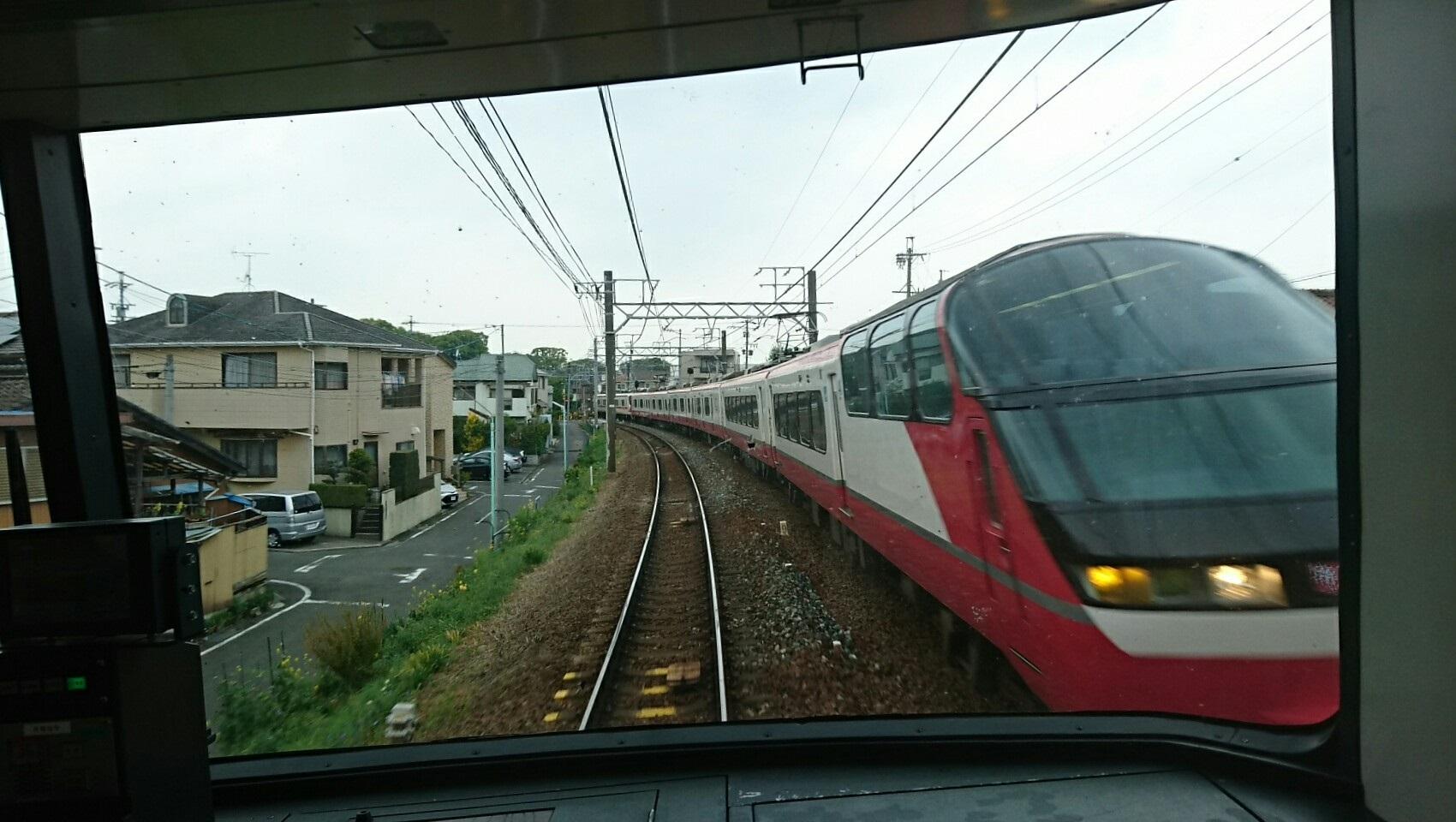 2018.4.11 名古屋 (3) 須ヶ口いき特急 - 桜すぎ 1700-960