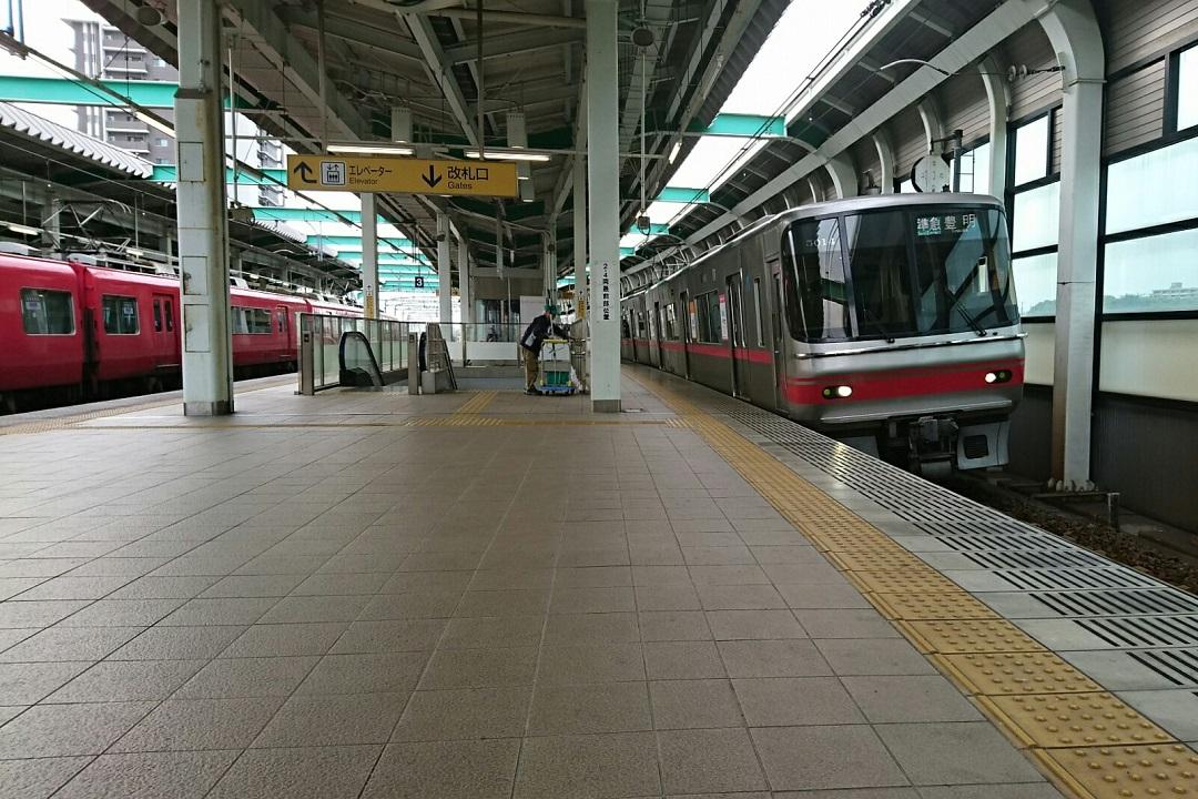 2018.4.11 名古屋 (33) 鳴海 - 豊明いき準急 1080-720