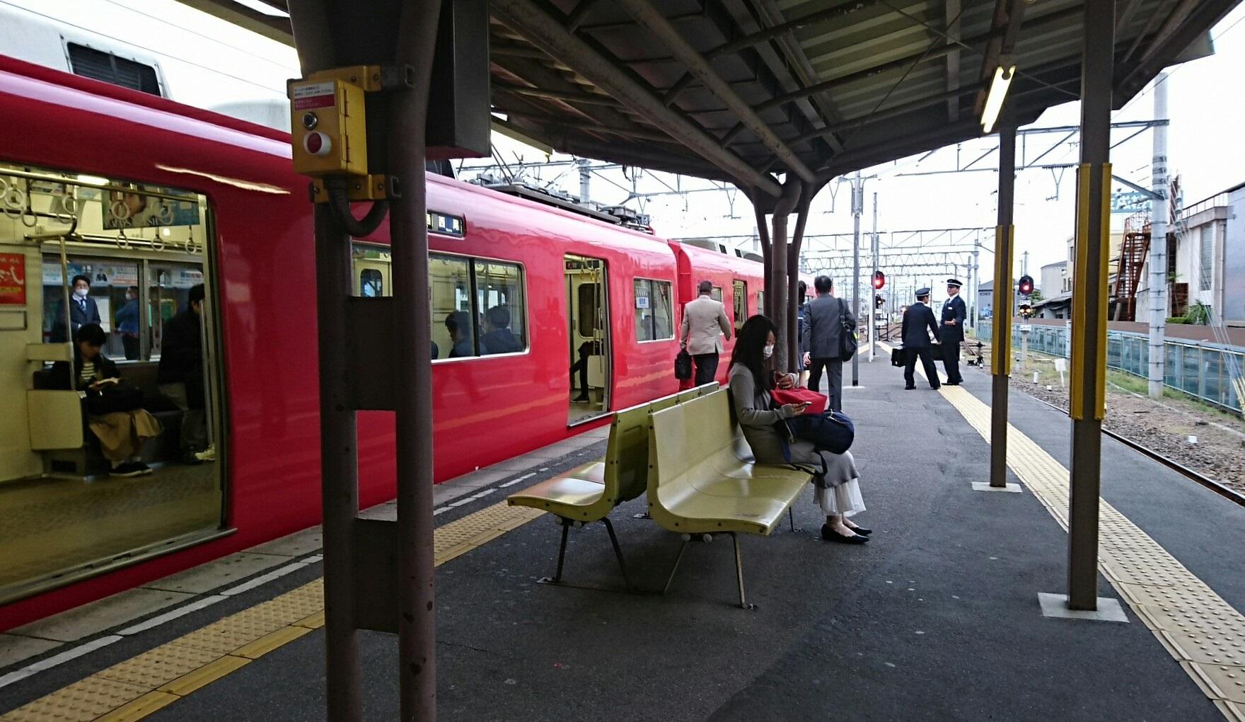 2018.4.11 名古屋 (39) しんあんじょう - 西尾いきふつう 1760-1020