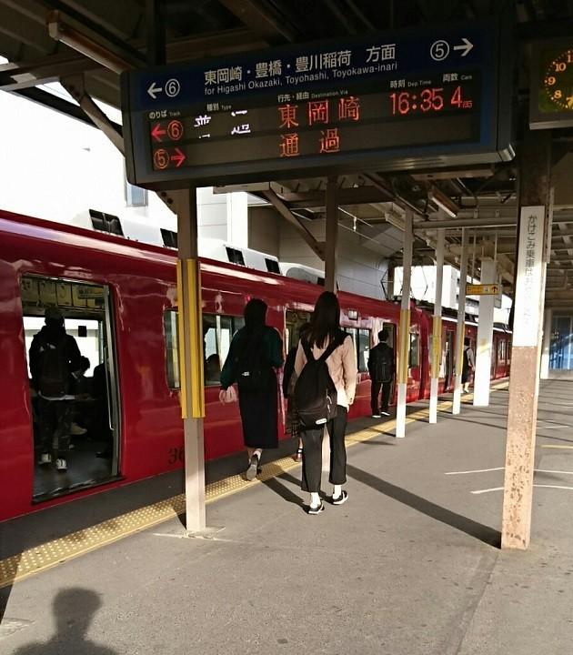 2018.4.12 名鉄 (7) しんあんじょう - 東岡崎いきふつう 630-720