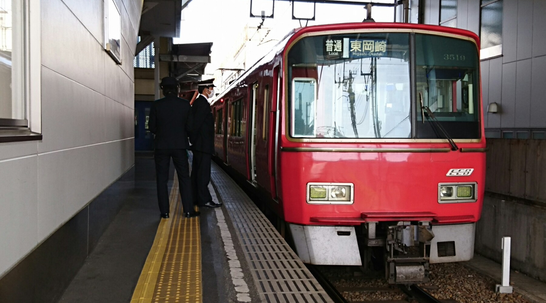 2018.4.16 東岡崎 (16) 東岡崎 - 東岡崎いきふつう 1800-1000