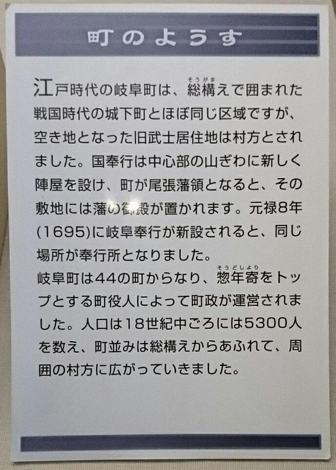 2018.5.4 岐阜市歴史博物館 (19) 江戸時代の岐阜のまちのようす 690-965