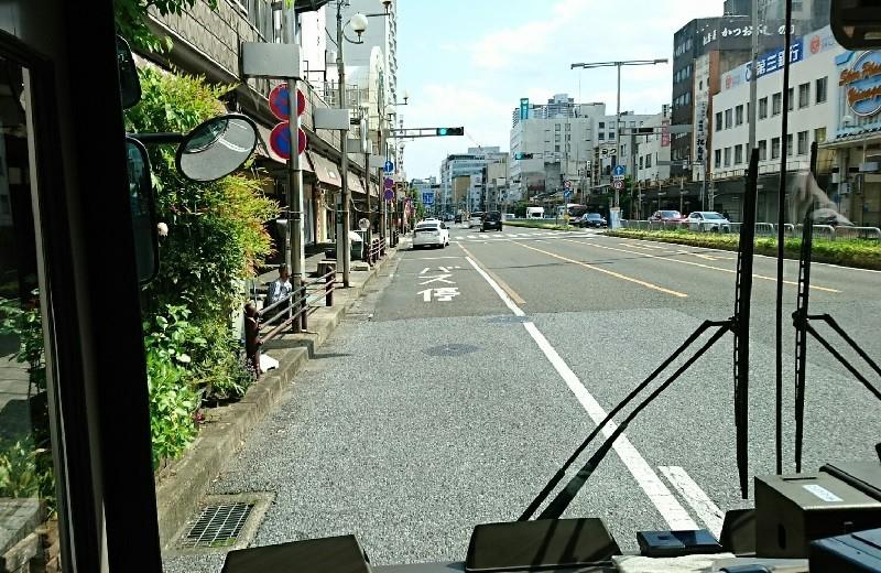 2018.5.4 岐阜 (41) 岐阜バス - 金華橋通り柳ヶ瀬バス停 800-520