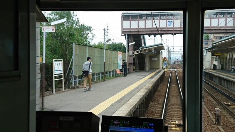 2018.5.6 東岡崎 (8) 東岡崎いきふつう - 宇頭 800-450