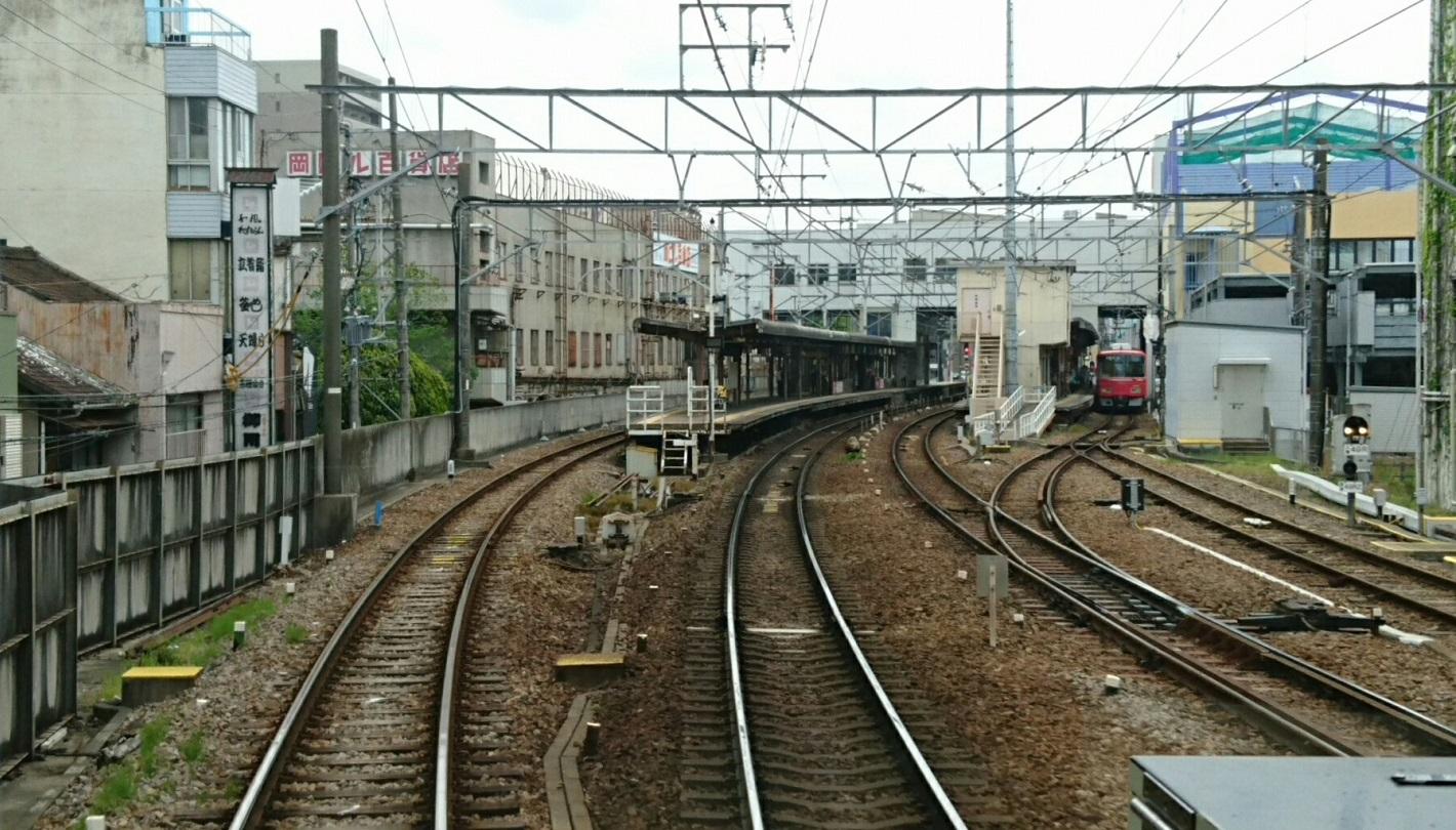 2018.5.6 東岡崎 (15) 東岡崎いきふつう - 東岡崎 1420-810