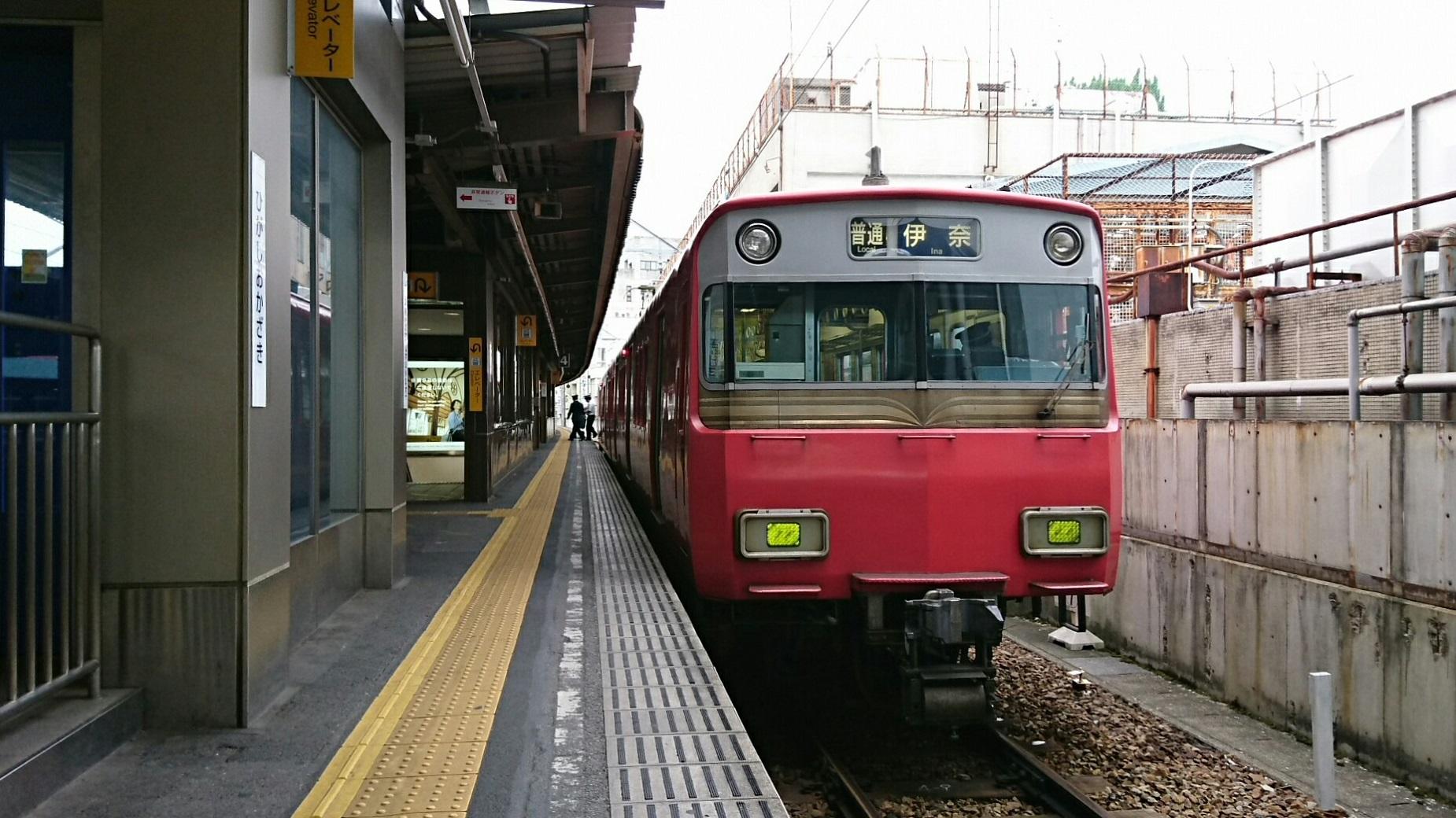 2018.5.6 東岡崎 (17) 東岡崎 - 伊奈いきふつう 1850-1040