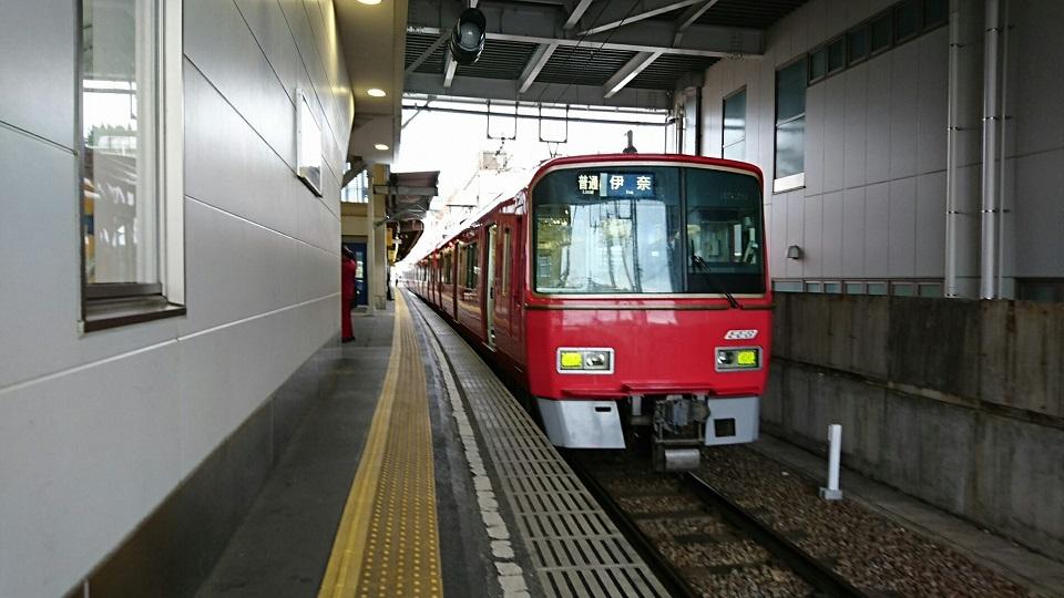 2018.5.8 名電長沢 (4) 東岡崎 - 伊奈いきふつう 960-540