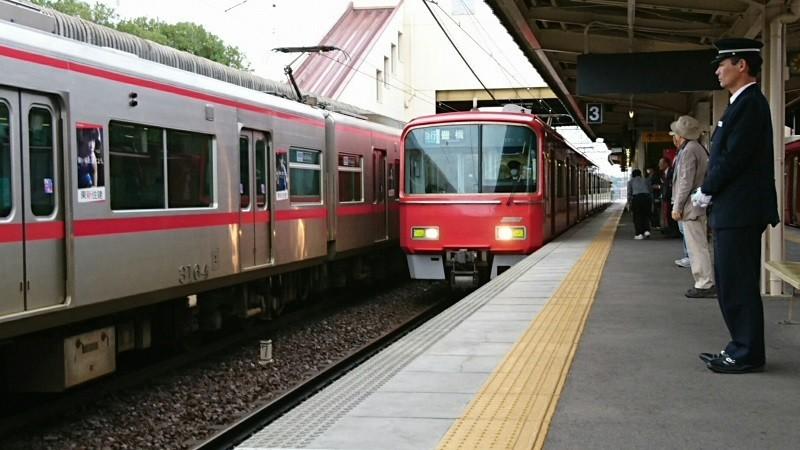 2018.5.8 名電長沢 (10) 美合 - 豊橋いき急行 800-450