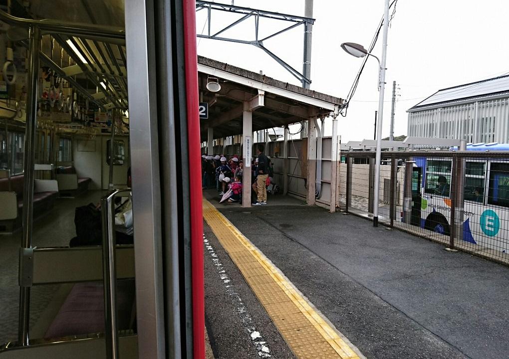 2018.5.8 名電長沢 (11) 伊奈いきふつう - 藤川 1020-720
