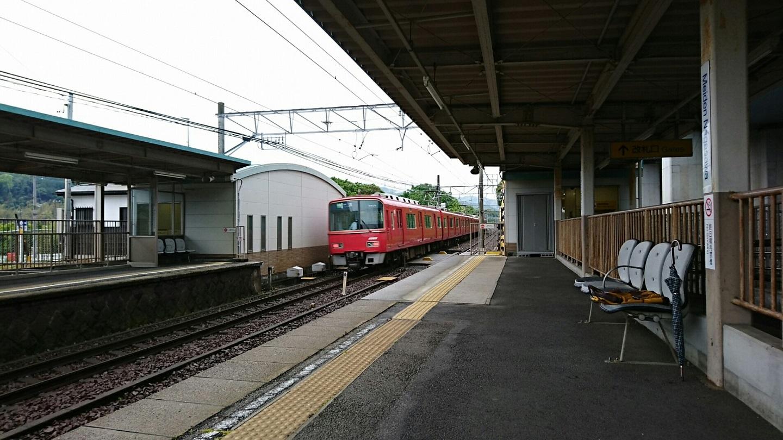 2018.5.8 名電長沢 (20) 名電長沢 - 一宮いき急行 1440-810