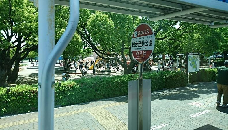 2018.5.11 (17) 更生病院いきバス - 総合運動公園バス停 790-450