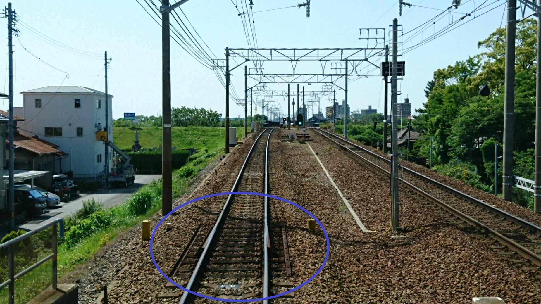 2018.5.14 犬山いきふつう (8) 岡崎公園前-矢作橋間 1850-1040