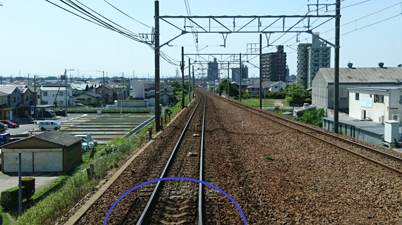 2018.5.14 犬山いきふつう (10) 岡崎公園前-矢作橋間 1440-810