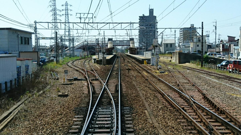 2018.5.14 犬山いきふつう (12) 岡崎公園前-矢作橋間 1440-810