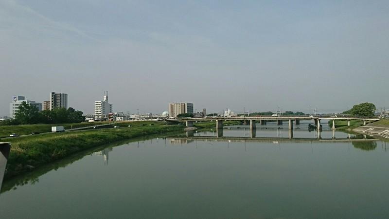 2018.5.16 美濃市 (5) 犬山経由岐阜いき急行 - 庄内川(しも) 800-450
