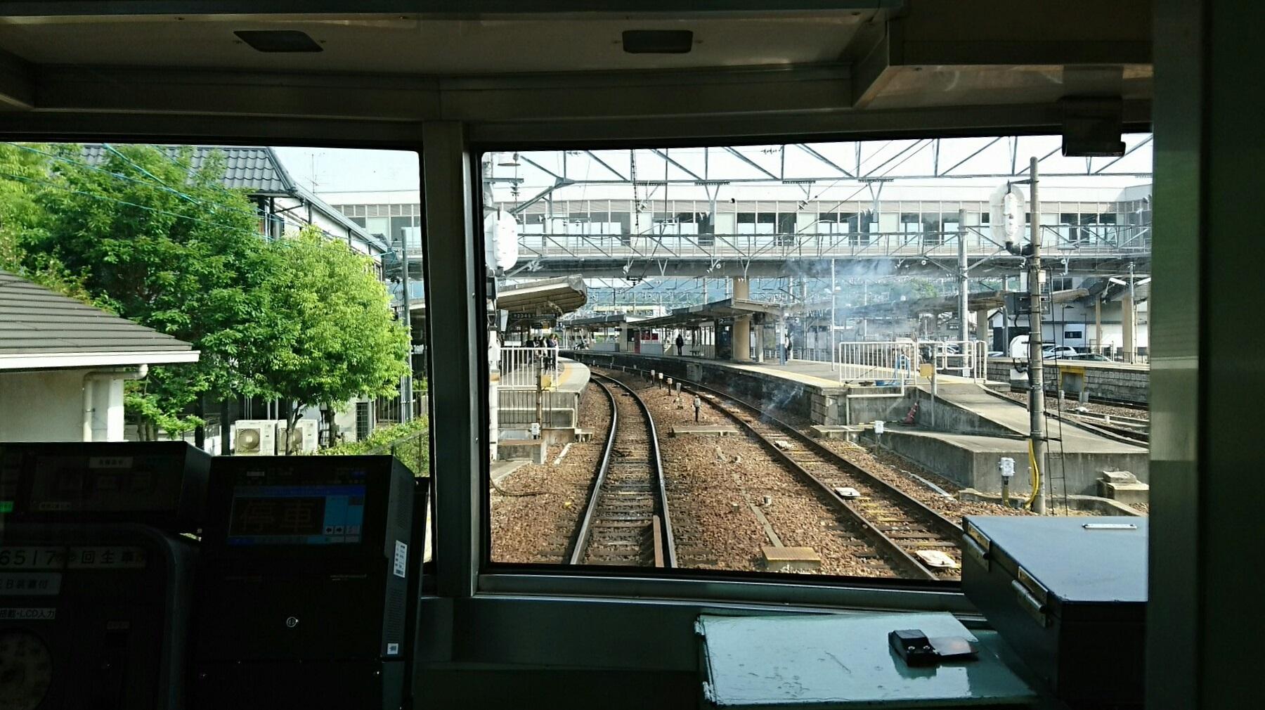 2018.5.16 美濃市 (15) 犬山経由岐阜いき急行 - 新鵜沼 1800-1010