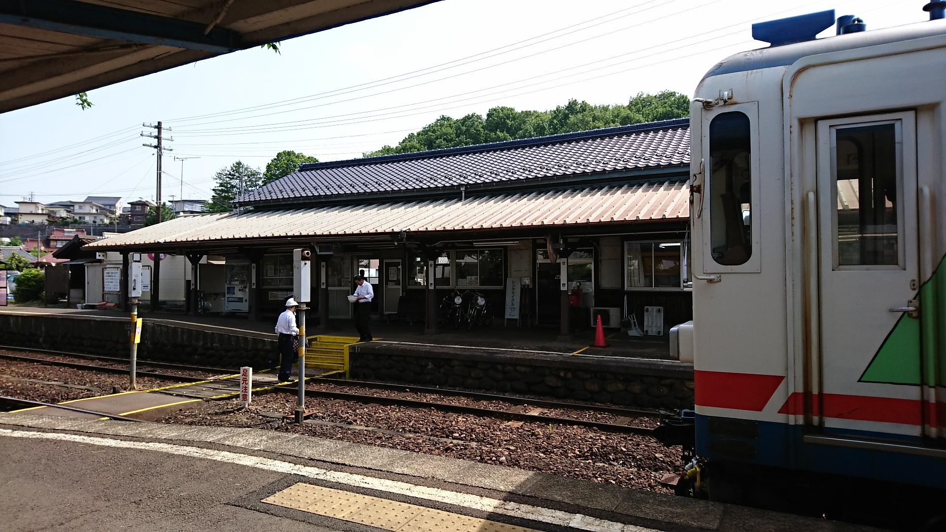2018.5.16 美濃市 (43) 関 - 駅舎 1920-1080