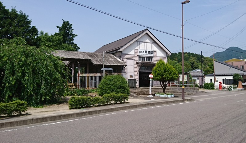 2018.5.16 美濃市 (56) 名鉄の旧美濃駅 1860-1080