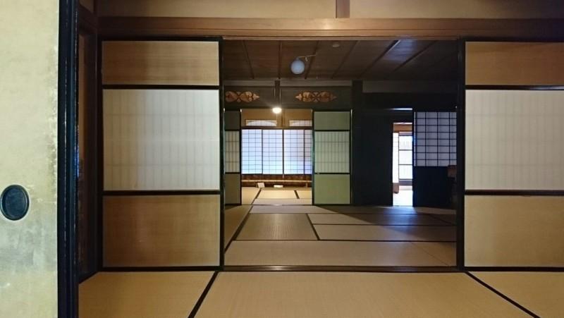 2018.5.16 美濃市 (84) 今井家住宅 - 座敷 1880-1060