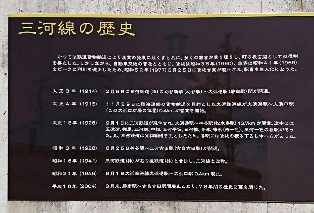 2018.5.20 (27) 碧南レールパーク - 三河線の歴史 1000-680