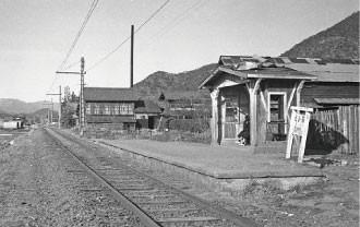 名鉄資料 (8) 高見駅 - 1960.2.5