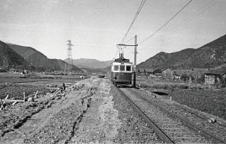 名鉄資料 (7) バス化直前の高富線 - 1960年