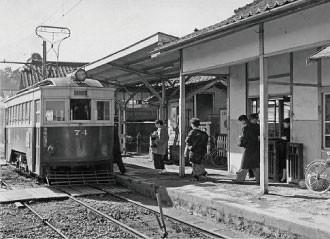 名鉄資料 (2) 高富駅74号 - 1960年