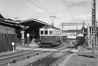 名鉄資料 (1) 高富駅74号 - 1960年